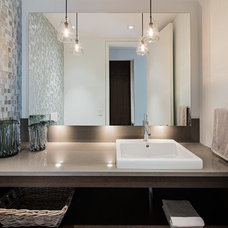 Contemporary Bathroom by Susan Knight Interiors