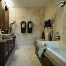Contemporary Bathroom by Insignia Kitchen and Bath Design Studio
