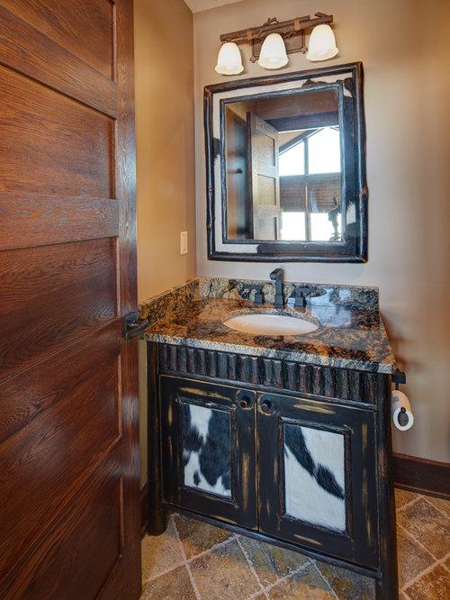 Salle de bain pour enfant avec un plan de toilette en granite photos et id - Taille moyenne salle de bain ...
