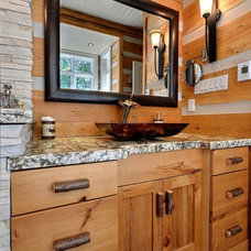 Contemporary Bathroom by Mark and Carol Rodgers