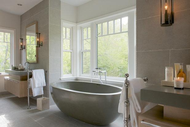 Victorian Bathroom by Brooks and Falotico Associates, Inc.
