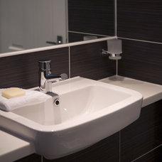Contemporary Bathroom by Adrienne Chinn Design