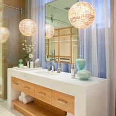 Contemporary Bathroom by ibi designs
