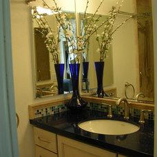 Contemporary Bathroom by Marina V. Phillips