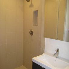Contemporary Bathroom by BRY design