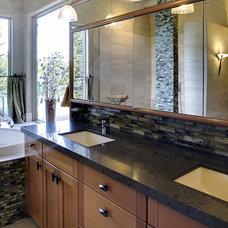 Contemporary Bathroom by Kaufman Homes, Inc.