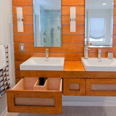 Contemporary Bathroom by ABK Today