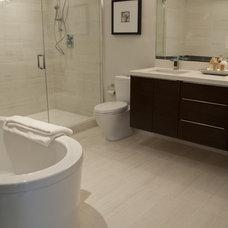 Contemporary Bathroom by Specstones Studio
