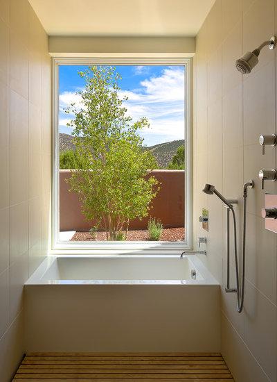 Contemporary Bathroom by Strell Design