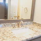 Tile Close Up Modern Bathroom Tampa By Jamie Gold