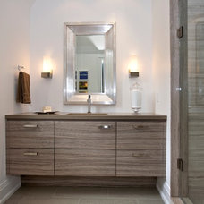 Contemporary Bathroom by Manorwood Fine Cabinetry