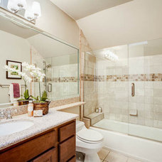 Traditional Bathroom by Abode