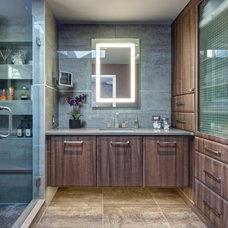 Contemporary Bathroom by Drury Design