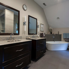 Contemporary Bathroom by Holiday Kitchens