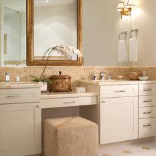 Contemporary Bathroom by Greenauer Design Group