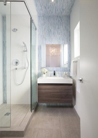 Marvelous Contemporary Bathroom by DKOR Interiors Inc Interior Designers Miami FL