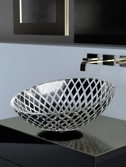 Crystal Vessel Sinks