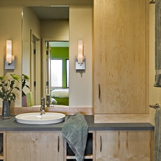 Contemporary Bathroom by Smith & Vansant Architects PC