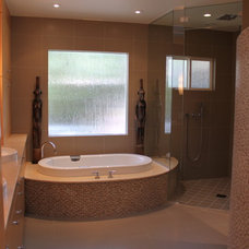 Contemporary Bathroom by Lotus Construction Group
