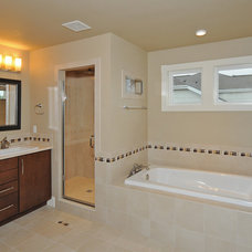 Contemporary Bathroom by Bungalow House Plans