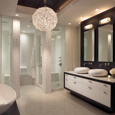 Contemporary Bathroom by Allen Saunders, Inc.