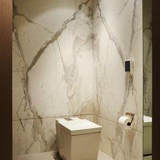 Contemporary Bathroom by Allen Saunders, Inc.