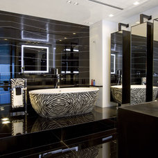 Modern Bathroom by Nieto Design Group