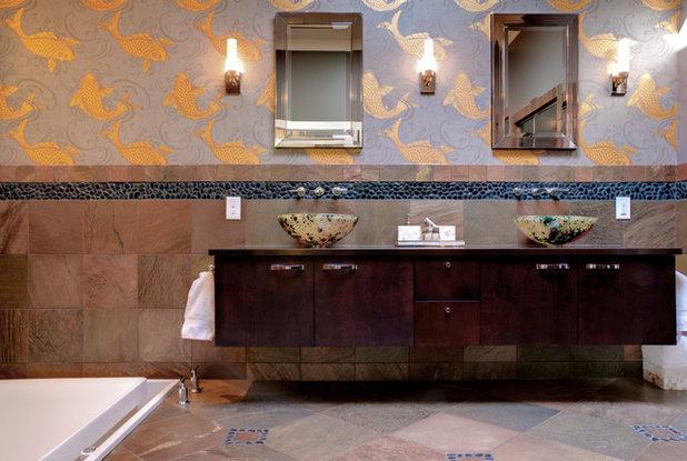 20 idées déco pour une salle de bains d'inspiration asiatique - Salle De Bain Asiatique