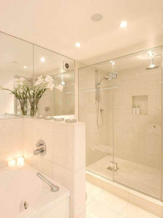 Jamaica Bathroom Design Ideas Remodels Photos With White Tile