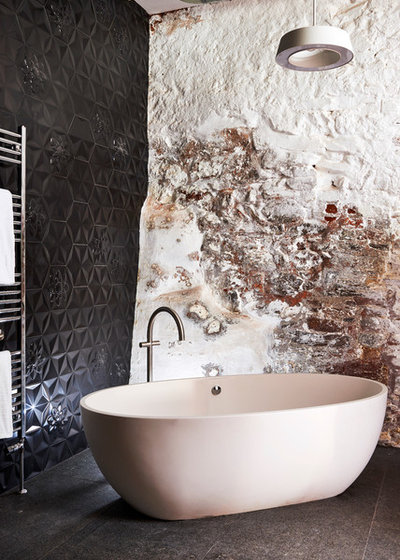 Eclectic Bathroom by SAPPHIRE SPACES l bulthaup Exeter