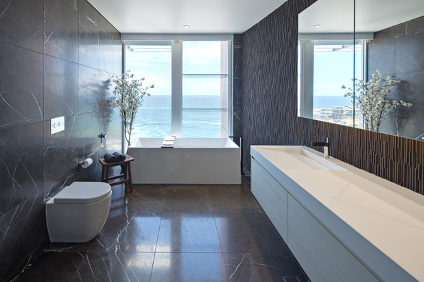 Contemporary Bathroom by Huw Lambert