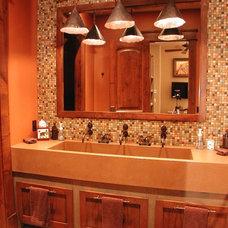 Traditional Bathroom by TAB ASSOCIATES INC