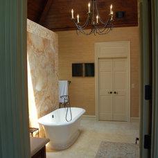 Eclectic Bathroom by Lisa B Morris Interiors