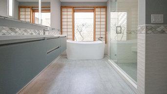 Cool & Modern Master Bath   Portland, Oregon