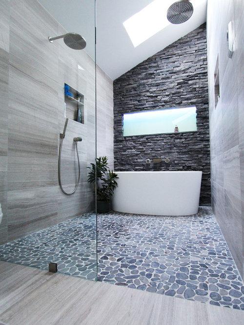 Coole Schrankfronten Wardrobe: Badezimmer Mit Granit-Waschtisch
