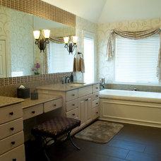 Transitional Bathroom by By Design LLC