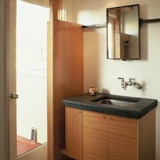 Industrial Bathroom by Florman Architects Inc.