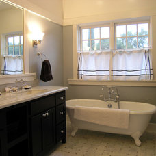 Traditional Bathroom by Thomas Saxby Architect