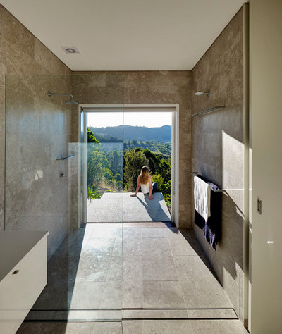 Bathroom by zaher architects