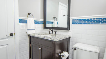 Coordinating Bathroom Remodel for Two Boys