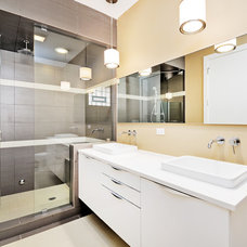 Modern Bathroom by Prestige Designs
