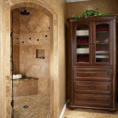 Shower tile design home design ideas pictures remodel for 9x12 bathroom designs