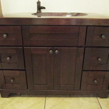 Copper bath counter/sink