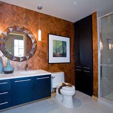 Contemporary Bathroom by Angela Todd Designs