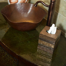 Traditional Bathroom by Artesano Copper Sinks