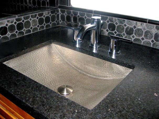 Traditional Bathroom by Artesano Copper Sinks