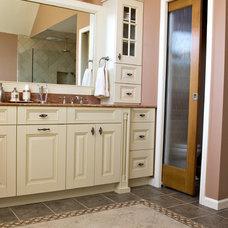 Traditional Bathroom by Simply Baths & Showcase Kitchens