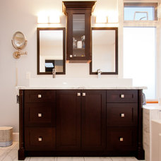 Traditional Bathroom Vanities And Sink Consoles by Harbour City Kitchens