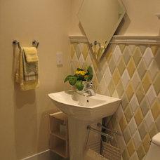 Traditional Bathroom by VERONIQUE WALDRON INTERIOR DESIGN
