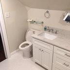 Frameless Shower Enclosure Traditional Bathroom